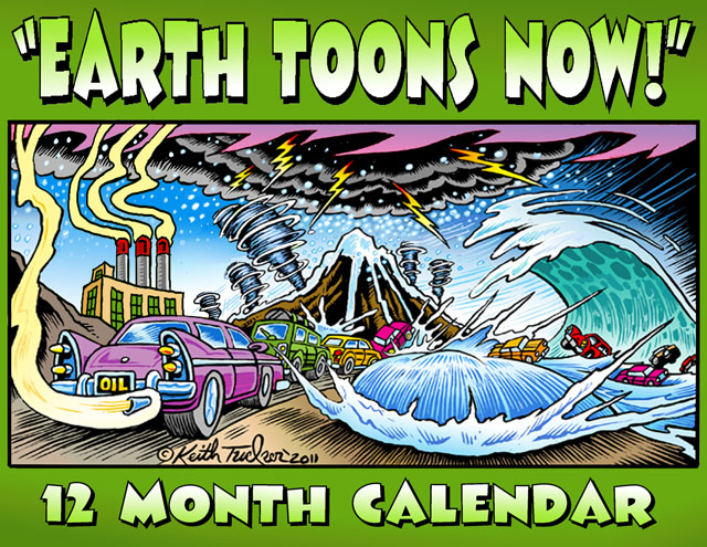 2012 Earth Toons Now Calendar