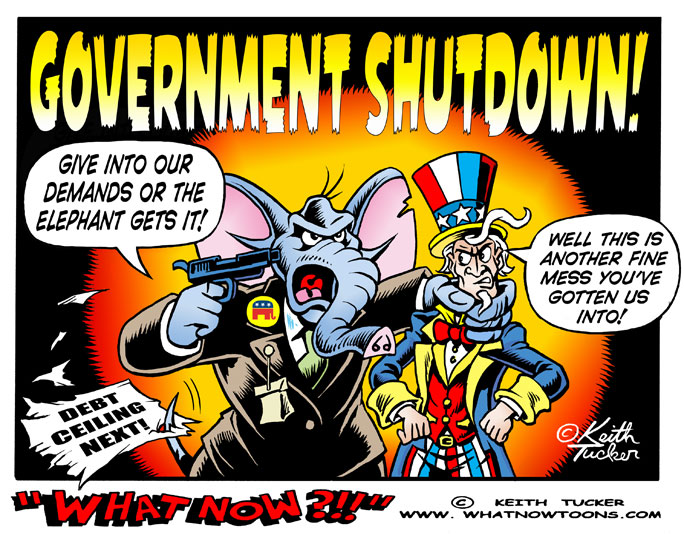 Government Shutdown, Congress, Congress Government Shutdown, Government Shutdown 2013, Government Shuts Down, Shutdown, Politics News, Barack Obama , Debt Ceiling,The Fed, Affordable Care Act, Bank Of England, Ted Cruz, UK Politics, eurozone crisis, Obama Debt Ceiling, Obamacare, UK NEWS, UK News, political cartoons, liberal cartoons