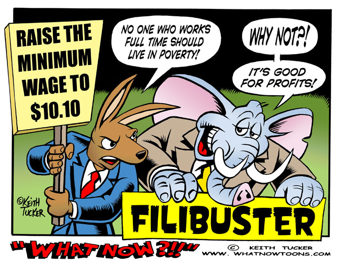 Federal Minimum Wage, GOP Filibuster Minimum Wage, Minimum Wage Increase, Obama Minimum Wage, Productivity Growth, Wage Floor, Business News, 10 Dollar Minimum Wage, 10.10 Minimum Wage, labor cartoons, New Minimum Wage, Obama Minimum Wage, Obama Working Poor, Working Poor, Working Poor Minimum Wage,  State of the Union, Poverty , Eitc, Work, Politics