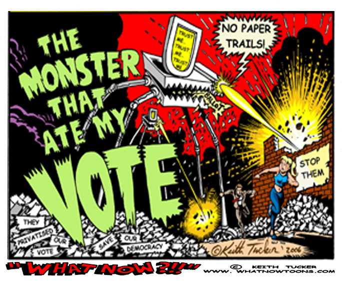 Monster that ate my Vote!