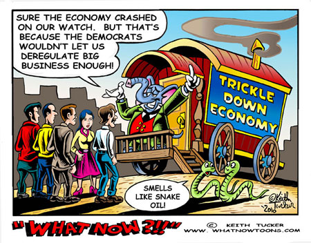 Trickle Down Snake Oil!