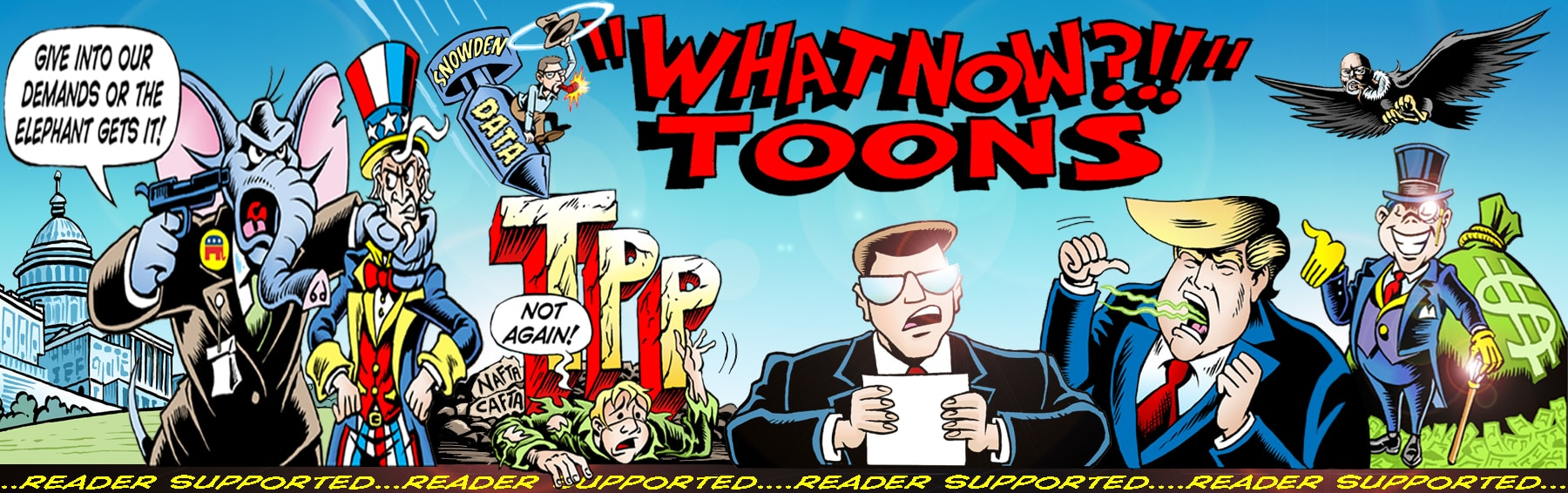 What Now?!? Toons by Keith Tucker